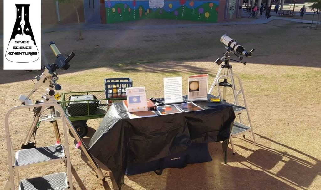 Optional Solar observing session (White Light & Hydrogen Alpha)
